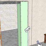 Чем и как уменьшить дверной проём в ширину и в высоту?