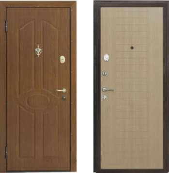 Входные металлические двери и их варианты