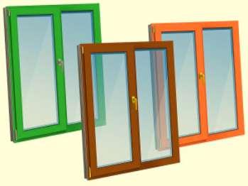 О цветных пластиковых окнах