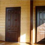 Нюансы установки двери в срубе