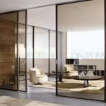 Самостоятельная установка стеклянных раздвижных дверей